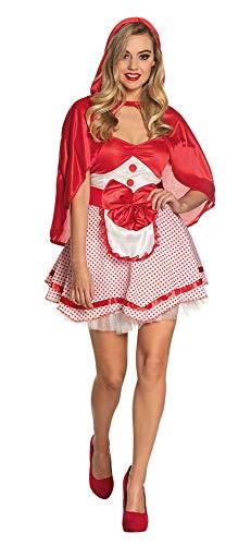 Boland-BOL83560 Caperucita Roja Sexy Disfraz Mujer, Color Rojo, S (36/38) (Ciao SRL BOL83560)