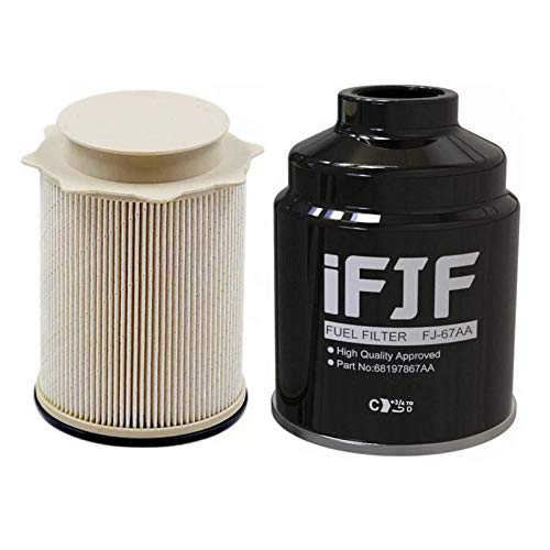 iFJF Fuel Filter Water Separator Replacement for Ram 6.7L 2013-2018 2500 3500 4500 5500 Diesel Engines Replaces 68197867AA 68157291AA