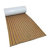 Cubierta de suelo de teca falsa para barcos de espuma EVA para yates, barcos de teca, suelos marinos – 240 x 45 cm