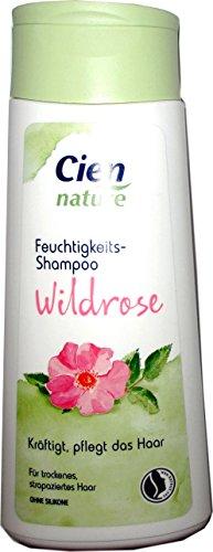 CIEN Nature Feuchtigkeits-Shampoo Wildrose