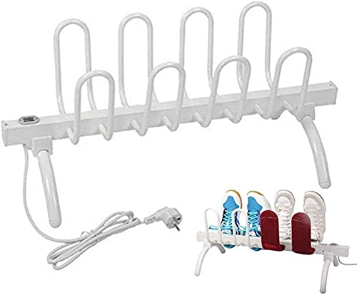 4 Paia di Scarpe asciuga Scarponi deumidificatore Elettrico autoportante scalda Scarpe riscaldatore Deodorante sterilizzatore per Guanti, Scarponi da Sci, Calzini a Secco Multifunzione