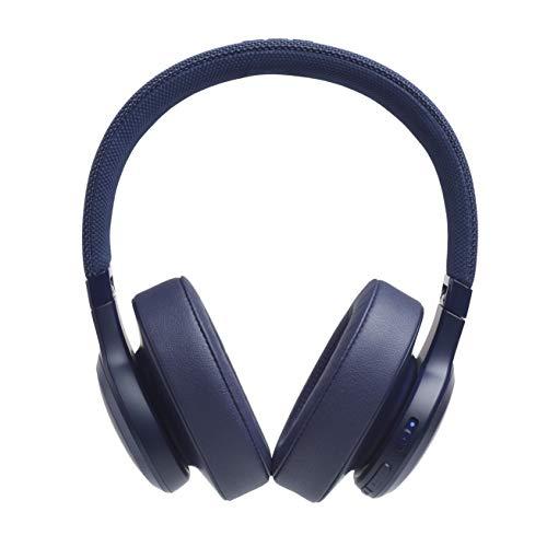 JBL LIVE 500BT – Casque audio circum-auriculaire sans fil – Écouteurs Bluetooth avec commande pour appels – avec Amazon Alexa intégré – Autonomie jusqu'à 30 heures – Bleu