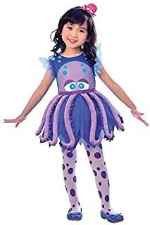 cute purple octopus