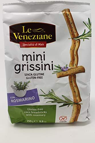 Le Veneziane Gluten Free Grissini Breadsticks - Rosemary Flavor250g