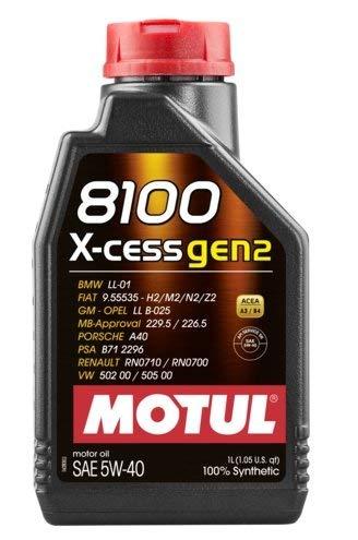 Aceite para coche Motul 8100 X-cess gen2 5W40-3x 1 l