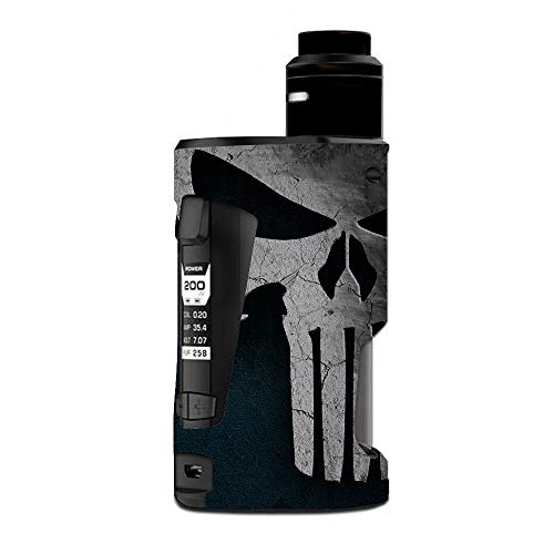 Decal Kid Skin for Geek Vape GBox Squonk - Skull 01   Protective, Durable, Unique Vinyl Decal wrap Cover   Easy to Apply, Remove, and Change Styles and Change Styles