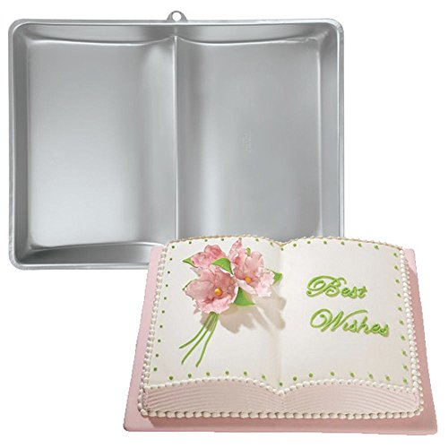 Wilton Cake Pan: Large Size Three Mix Book Cake Pan (2105-2521)