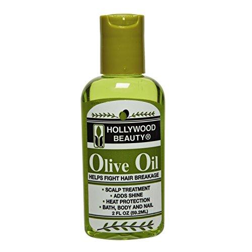 Hollywood Beauty Olive Oil 2 Ounce (59ml)