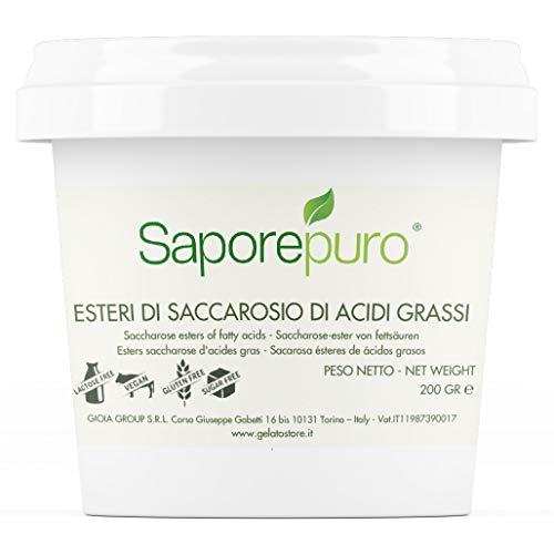 ESTERI DEL SACCAROSIO - Sucresteri- Esteri degli zuccheri degli acidi grassi - 200 GR