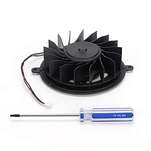 Ingebouwde ventilator voor PS3 KSB1012HE, vervanging van de ventilator met schroevendraaier voor Playstation Turbo Cooler Game Console Radiator voor PS3 KSB1012HE