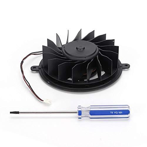 cigemay Ventilador de enfriamiento, para PS3 KSB1012HE Reemplazo del Ventilador Incorporado, para Playstation Turbo Cooler, con Destornillador, Enfriamiento rápido