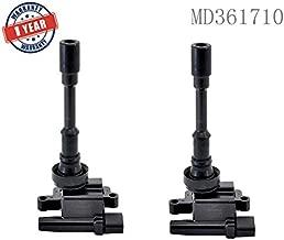 2 Pcs Genuine Ignition Coil Pack MD361710 For 02-04 Mitsubishi Lancer 1.6L 01-05 Chrysler Sebring Dodge Stratus