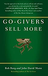 Best Sales Books includes Go-Givers Sell More by Bob Burg