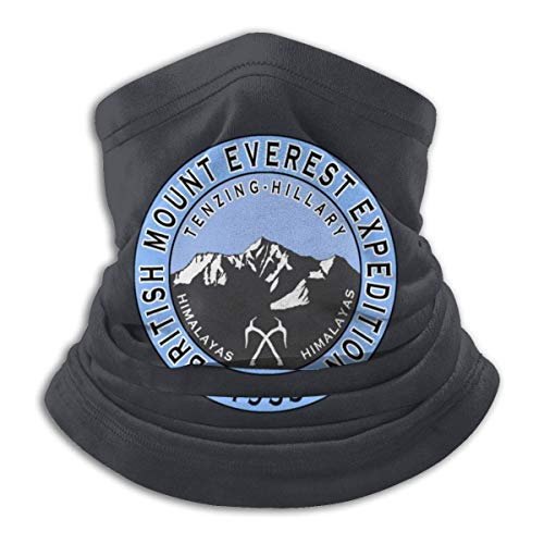 N/A Tube Scarf,Tough Headwear,British Mount Everest Expedition 1953 Outdoor Sports Neck Warmer Headband Bandana Balaclava