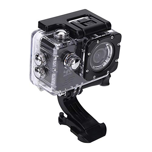 Wakects Action Camera Sport, HD 1080P Videocamera Impermeabile per Sport estremi, Sport Acquatici, Cam Subacquea Fotocamera profondità 30m