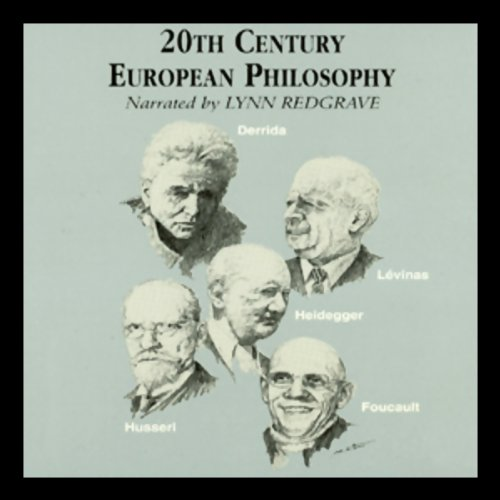 20th Century European Philosophy cover art