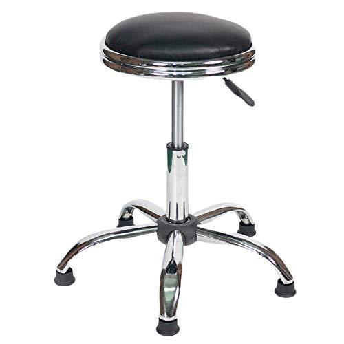 Ybzbx Barhocker PU Soft Pack Laborhocker Werkstattarbeit Ohne Rollstuhl Heben Drehbarer Barstuhl Geeignet Für Die Aufnahme Von G?sten