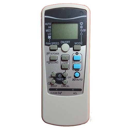 Control remoto de repuesto para aire acondicionado Mitsubishi. Compatible con los modelos Rkx502a001, Rkx502a001g, Rkx502a001c, Rkx502a001b, Rkx502a001f, Rkx502a001