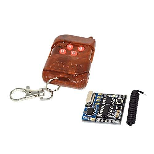 HYY-AA afstandsbediening zender met antenne en ontvanger, 3 kanalen en 4 kanalen, ontvanger relais
