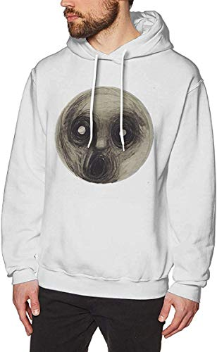 Preisvergleich Produktbild lifangtaoT Herren Hoodie Kapuzenpullover,  Mens Funny Print with Steven Wilson The Raven That Refused to Sing Classic Hooded Sweatshirt