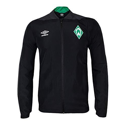 Umbro 2018-2019 Werder Bremen Woven Jacket (Black)