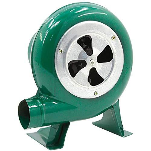 Ventilatore di aria elettrico centrifugo manuale del ventilatore dell'ingranaggio della forgia, ventilatore della pompa, aeratore del barbecue, per combustione del barbecue piccolo ventilatore 60w