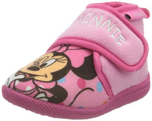 CERDÁ LIFE'S LITTLE MOMENTS 2300004566_T024-C07, Zapatillas de Casa Minnie-Licencia Oficial Disney Niñas, Rosa, 24 EU