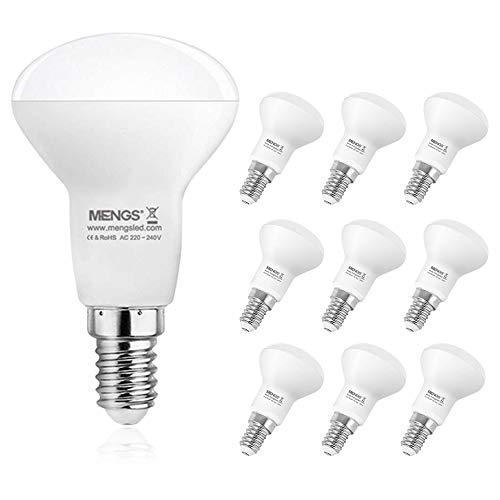 DASKOO 10er Pack E14 R50 LED Reflektorlampen 5.5W LED Opal Strahler Ersetzt 40W Glühbirne 470LM Warmweiß 2700K Glühbirne AC 220-240V für Geschäfte, Büros, Arbeitsplätze, Wohnraumbeleuchtung