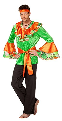 L3302320-64 - Disfraz para hombre de sambahaca del Caribe (talla 64)