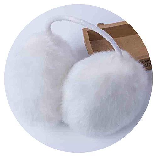 GJJSZ Orejeras de Invierno para Mujeres Orejeras Cubierta de Oreja Piel Orejas cómodas Orejeras Calientes
