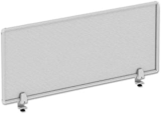 Alera PP4718 Polycarbonate Privacy Panel, 47w X 18h, Silver
