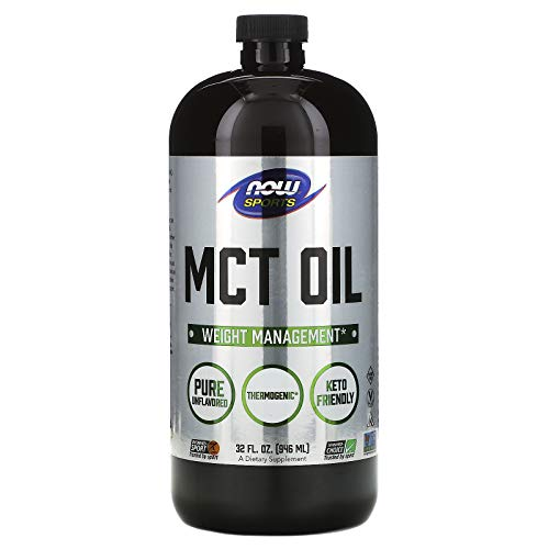NOW MCT Oil 100% Pure (Glass), 946 g