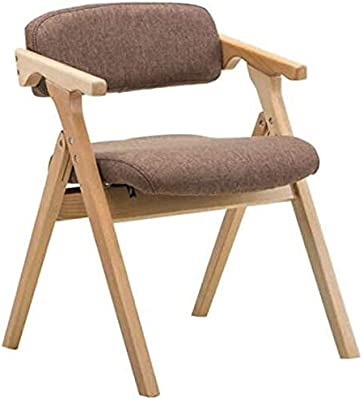 Kitchen Home Decor Wooden Stool Dining Chairs Nordic Dining Chairs Home Folding Chairs Simple Coffee Chair Leisure Chair (Color : #2)