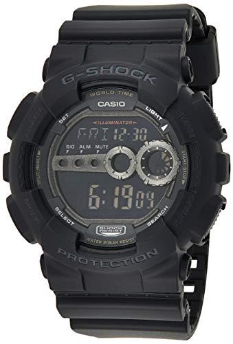 Casio Men's GD100-1BCR G-Shock X-Large Black Multi-Functional Digital Sport Watch