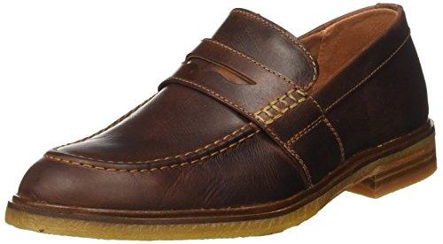 Clarks Clarkdale Flow, Mocassini Uomo, Marrone (Mahogany Leather), 43 EU