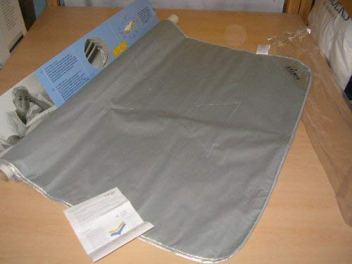 Simtex Matratzenunterlage,Abschirmmatte,gegen Elektrosmog und Erdstrahlen 100/135 Kinderbett, Gitterbett