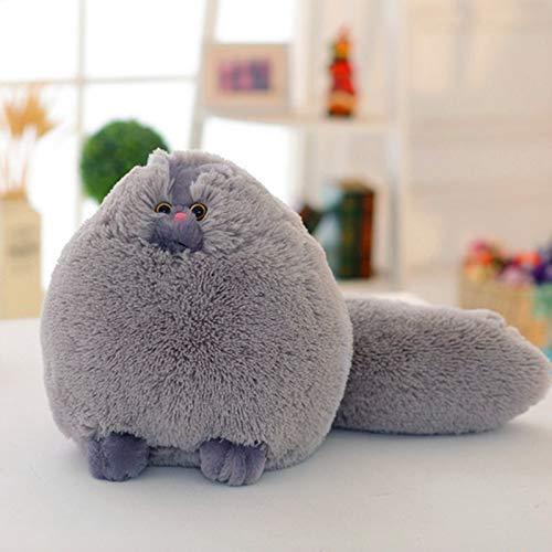 tianluo Stofftier 30cm Kawaii Flauschige Katze Plüschtiere Persische Katze Gefüllte Puppen Weiche Kissen Kuscheltier Peluches Puppen Baby Kinderspielzeug