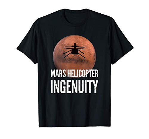 Mars Helicopter Ingenuity Exploration T-Shirt