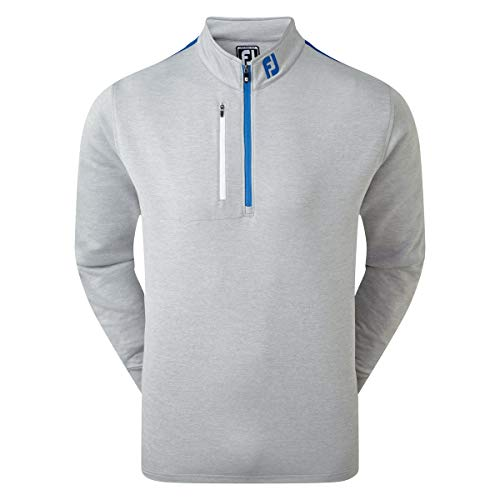 Footjoy Sleeve Stripe Chill-Out Pull pour homme Gris, xl