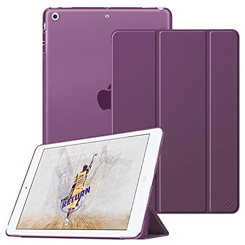 Fintie Hülle für iPad Mini 1 / iPad Mini 2 / iPad Mini 3 - Superdünne Superleicht Schutzhülle mit durchsichtiger Rückseite Abdeckung Cover mit Auto Schlaf/Wach Funktion, Lila
