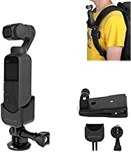 Tineer for DJI OSMO Pocket Gimbal Accessory, Multi-Function Expansion 1/4 Screw Adapter + Backpack Bracket Clip Adapter Kit