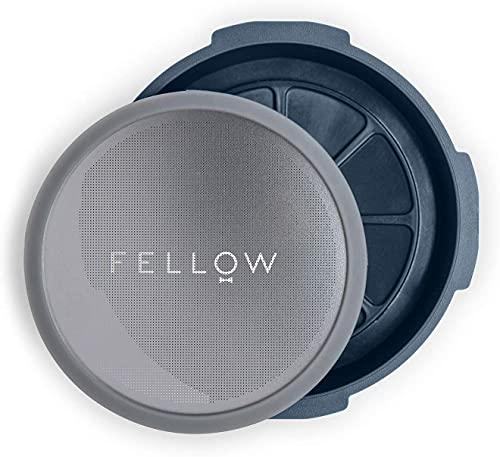 Fellow Filtro reutilizable y accesorio accionado por presión para cafetera aeropress con estilo...