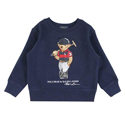 Polo Ralph Lauren - Felpa blu orso 323836596001 - Felpa blu orso per bambino blu S (8 anni)