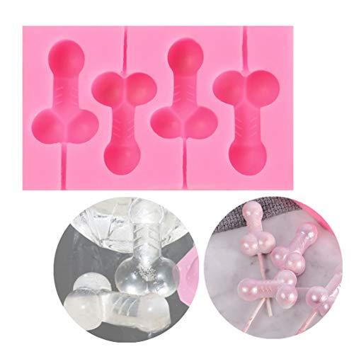 BINX Gummy Spaß Form Silikon Süßigkeiten Schokoladenformen Party Neuheit Geschenk Für künstliche Eisform Kunst Werkzeuge