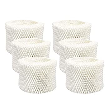 Lemige 6 Pack HAC-504 Humidifier Filters for Honeywell Humidifier HAC-504 HAC-504AW HAC504V1 HCM350 HCM-350W HCM-300T HCM-315T HCM-600 HCM-710 Replacement Filter A,