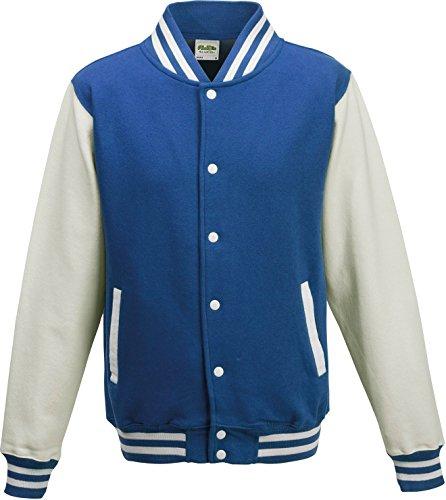 AWDis - Blouson - Femme - Bleu - Royal Blue / White - 38