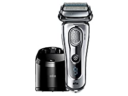 Cool gadgets - a Review of the Coolest Gadgets you can buy - Braun Series 9-9095cc Wet and Dry Foil Shaver for Men with Cleaning Center