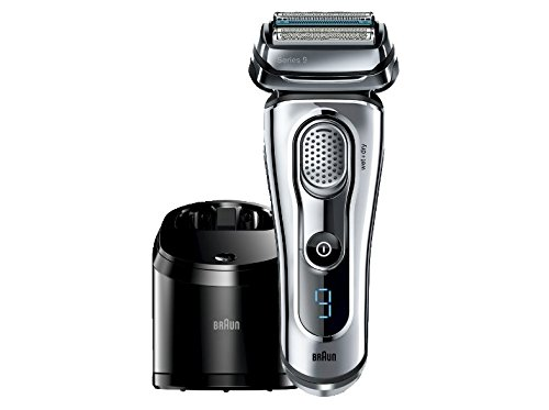 Braun Series 9-9095cc Wet and Dry Foil Shaver for Men with Cleaning...