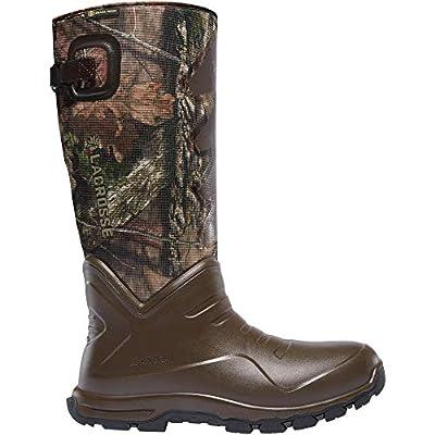 """LaCrosse Men's 340227 AeroHead Sport 16"""" Waterproof Hunting Snake Boot, Mossy Oak Break-Up Country - 10 M"""