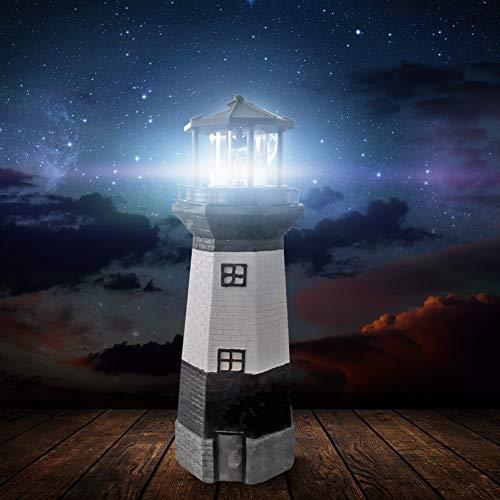 Solarlaterne Für Außen Solarlampen Led Leuchtturm Solarleuchte Leuchtturm Licht Turm Lampe Drehbare Leuchtturm Garten Ornamente Garten Outdoor Dekor